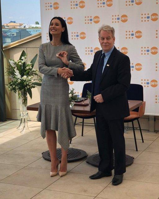 Маша Ефросинина стала почетным послом ООН - фото 127978