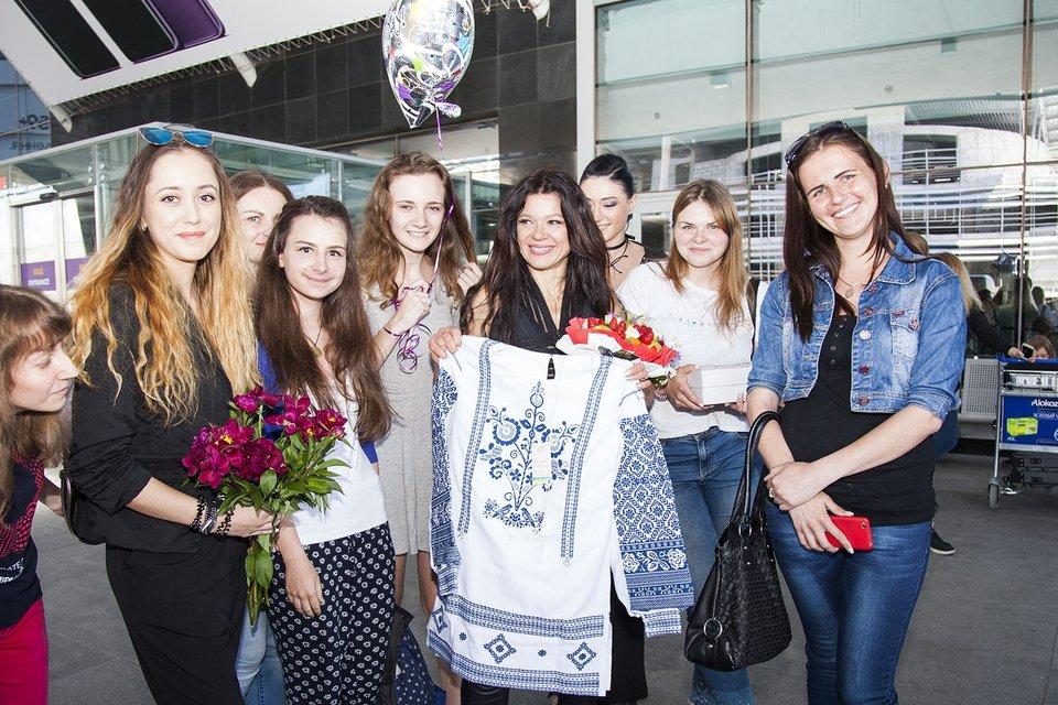 День рождения: Руслана играла на трембите и спела новую песню, ФОТО - фото 127208