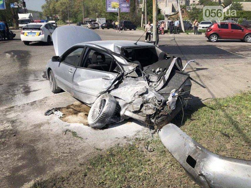 Жуткое видео: В Днепре фура влетела в 13 автомобилей, есть жертвы (18+) - фото 123119