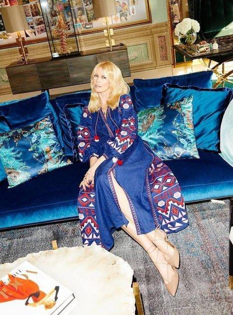 День вышиванки: голливудские звезды в традиционном украинском наряде - фото 125450