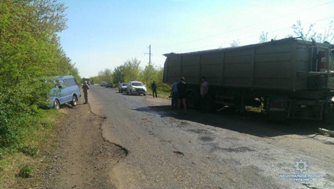 В тройном ДТП в Николаевской области пострадали 19 человек (ФОТО) - фото 123242