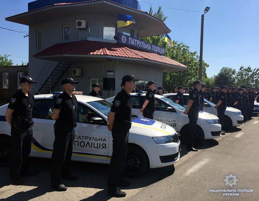 В Херсоне запустили отдельное подразделение патрульных Крыма - фото 124953