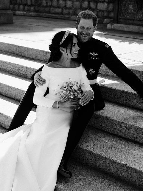 Свадьба принца Гарри и Меган Марк: в сети появились первые семейные фото - фото 126325