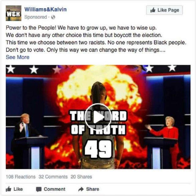 США обнародовали копии Facebook-постов российских онлайн-троллей - фото 124314