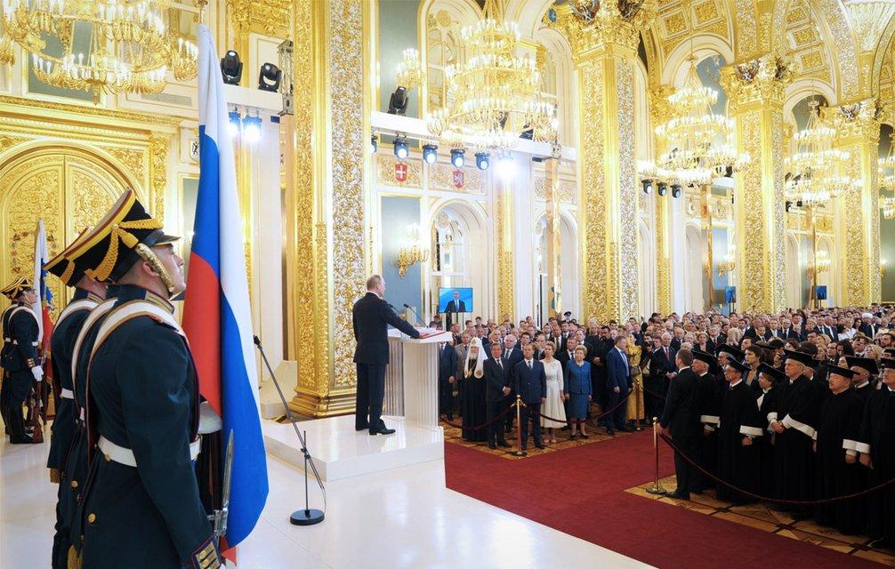 'Инаугурация царя': Путин останется президентом РФ до 2024 года - фото 123528