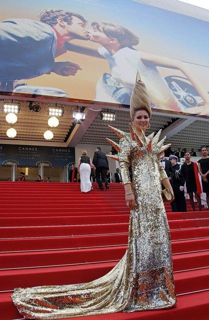 Каннский кинофестиваль-2018: звезды удивили своими нарядами - фото 123918