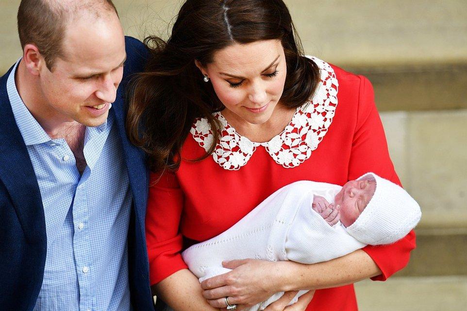 Опубликовано первое совместное фото детей Кейт Миддлтон и принца Уильяма - фото 123465