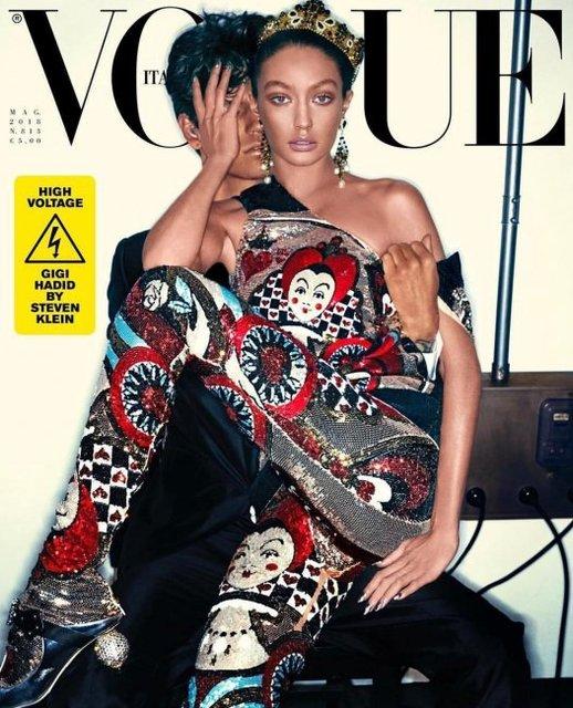 Джиджи Хадид извинилась за обложку модного журнала с ее участием - фото 123158