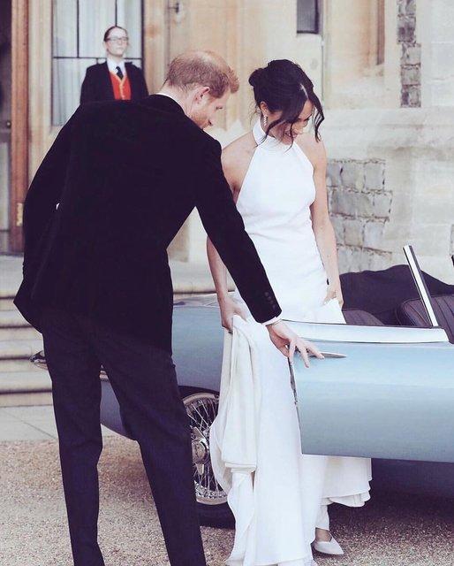 Второе свадебное платье Меган Маркл больше понравилось британцам - фото 126180