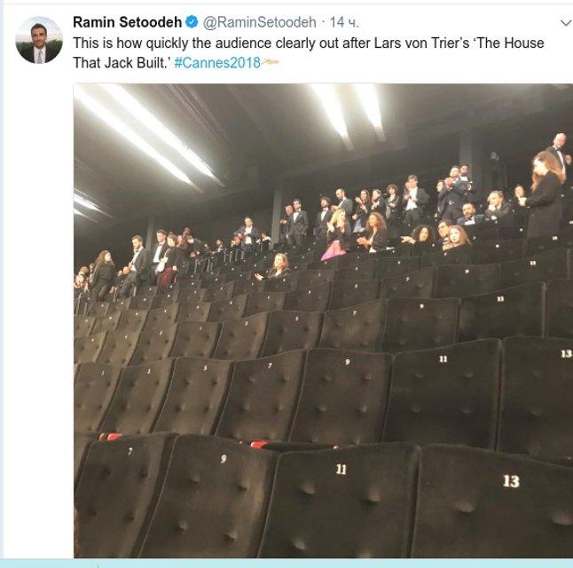 В Каннах с показа фильма Ларса фон Триера ушли более ста человек - фото 125143