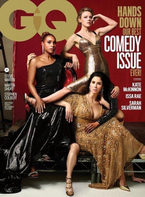 Журнал GQ высмеял Vanity Fair и выпустил обложку с лишними частями тела - фото 126533