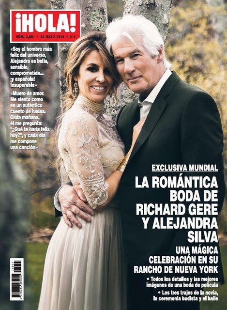 Ричард Гир женился в третий раз - фото 125408