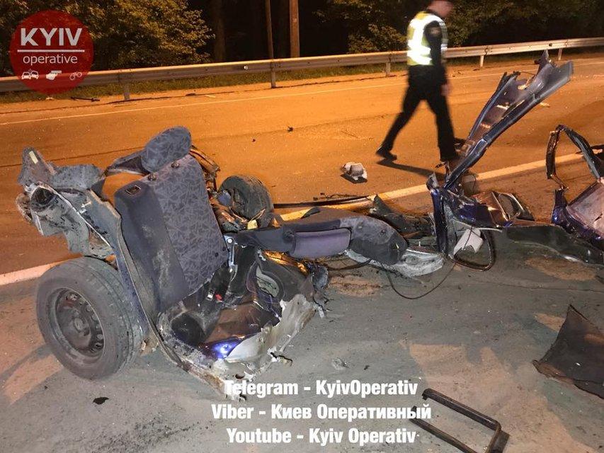 В Киеве 'евробляху' разорвало на части - фото 122632