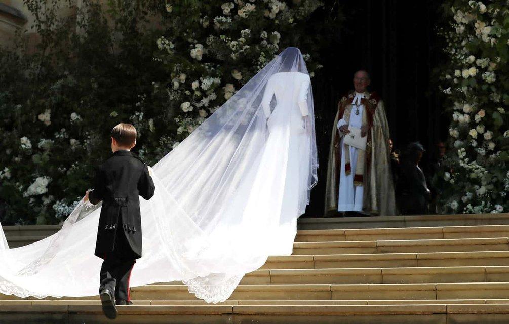Меган Маркл и Принц Гарри стали мужем и женой (ФОТО) - фото 125997