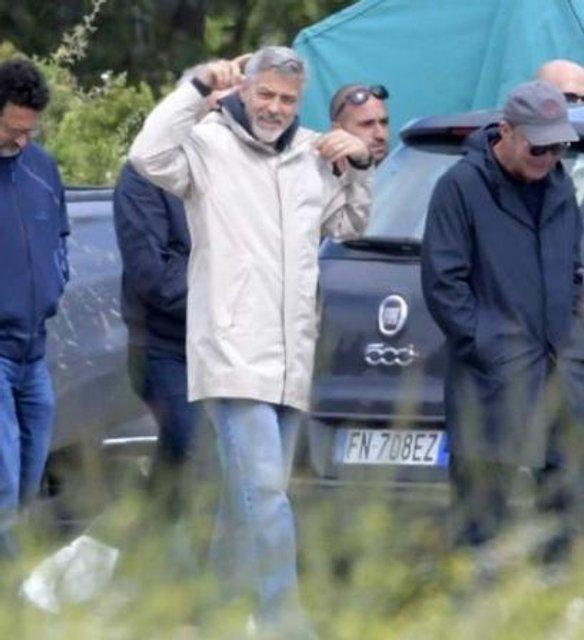 Джордж Клуни снимает фильм о Второй мировой войне - фото 125404