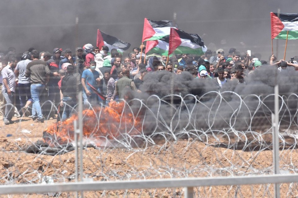 Столкновения и жертвы: В Иерусалиме открыли посольство США - фото 124905