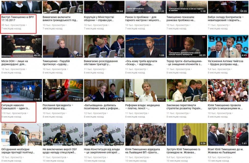 Тимошенко потратила за неделю больше 1 млн на свою рекламу - фото 126685