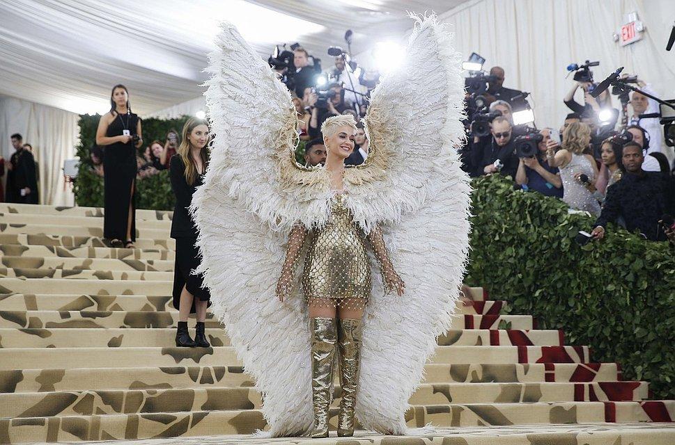 Met Gala-2018: Джаред Лето в роли Иисуса, а Кэти Перри - ангела - фото 123827