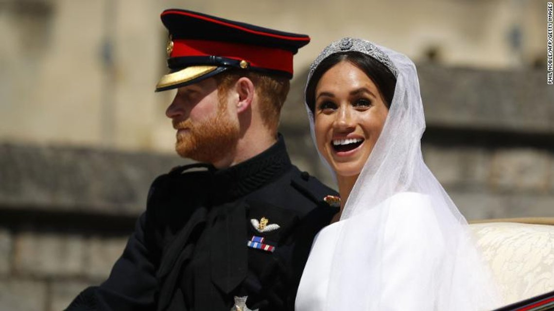 Меган Маркл и Принц Гарри стали мужем и женой (ФОТО) - фото 126000