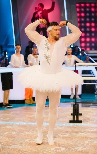 Сергей Притула на пуантах и в пачке станцевал балет - фото 124414