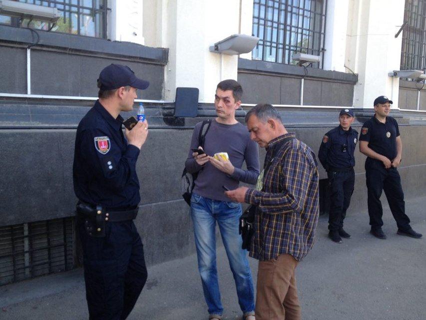 В Одессе парня, который нес цветы на Куликово поле, 'наказал бог' (ФОТО) - фото 122764