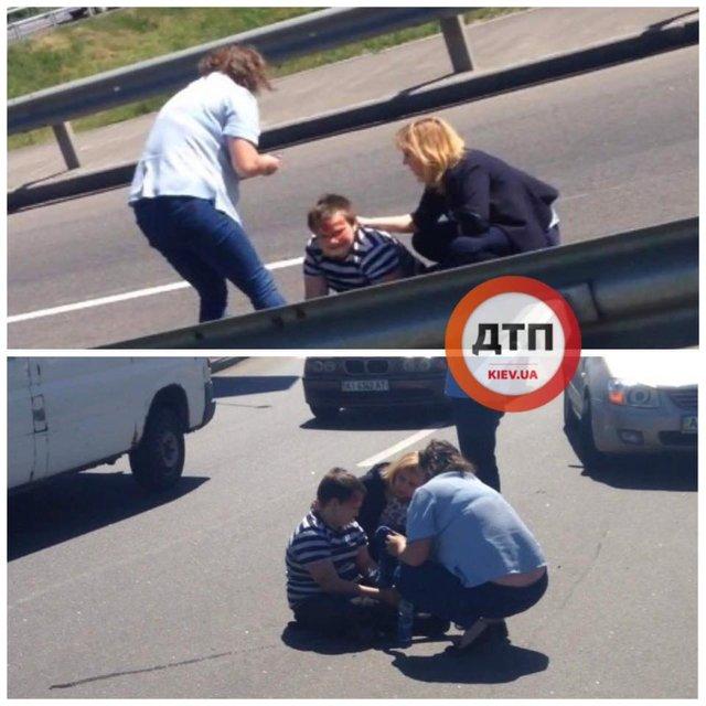 Сбил ребенка с женщиной и сбежал: подробности жуткого ДТП в Киеве - фото 124375