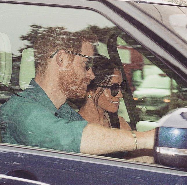 Принц Гарри и Меган Маркл вернулись домой после свадебного уикенда - фото 126414