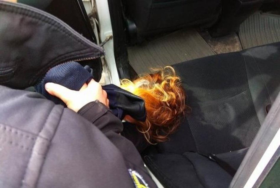 Полицейские Киева жестко задержали мать Ирины Бережной - фото 123983