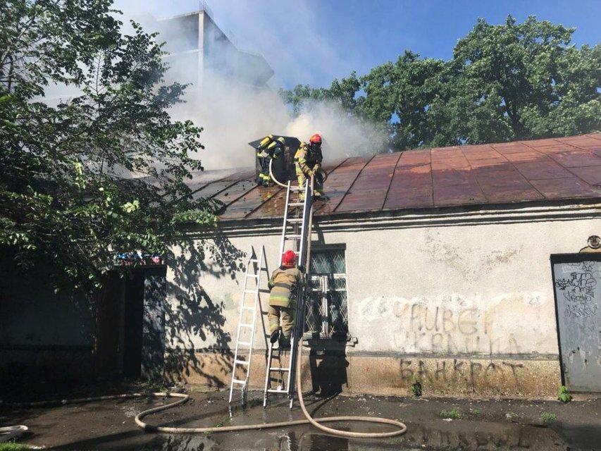 Пожар в кинотеатре Киева 'Экран': подробности - фото 127592