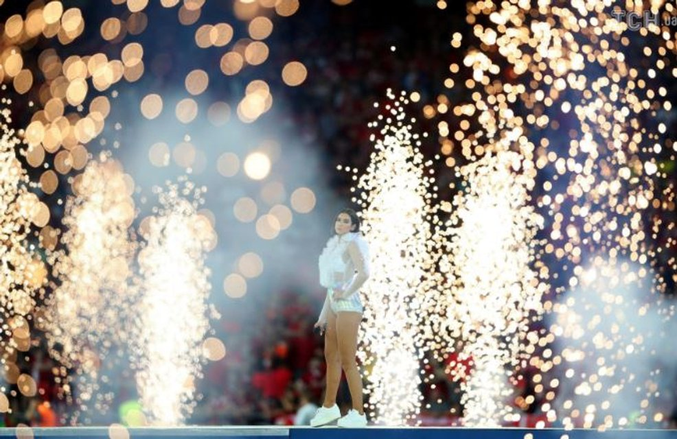 На Олимпийском прошла церемония открытия финала Лиги чемпионов - фото 127456
