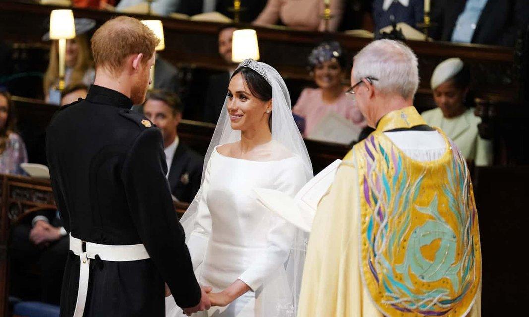Меган Маркл и Принц Гарри стали мужем и женой (ФОТО) - фото 126002
