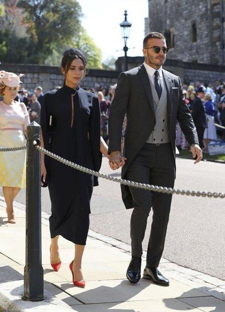 Дэвид Бекхэм на королевской свадьбе проявил неуважение - фото 126354
