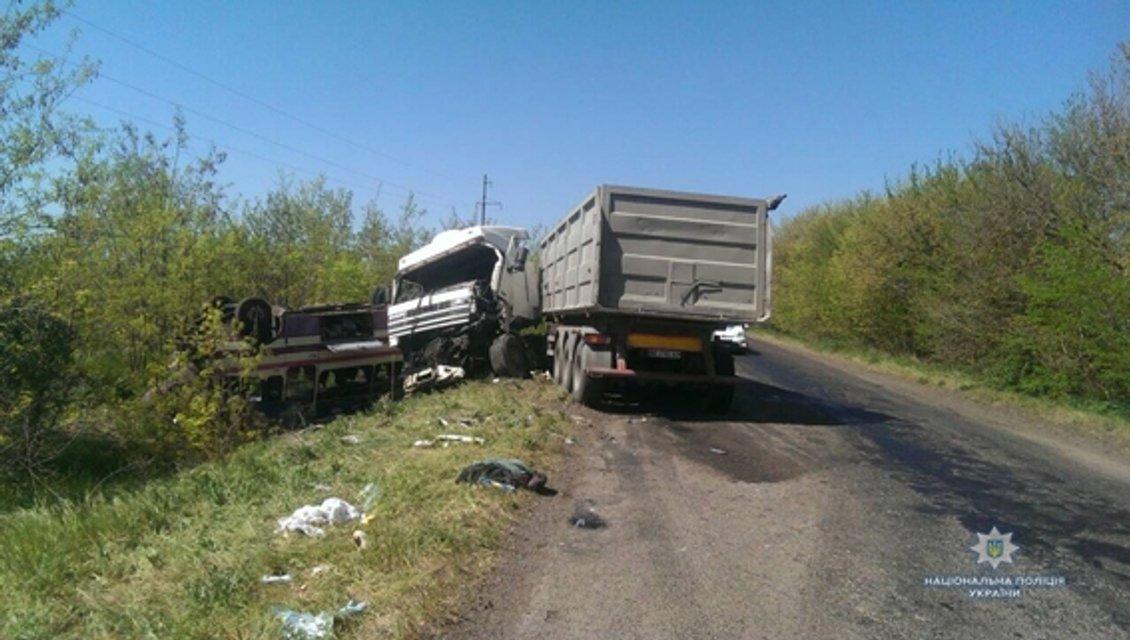 В тройном ДТП в Николаевской области пострадали 19 человек (ФОТО) - фото 123241
