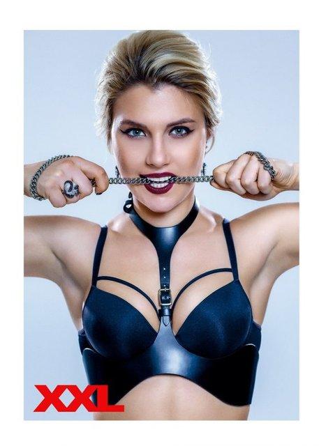 Латекс и кожа: Лучшая фехтовальщица Украины оголилась для журнала XXL (фото) - фото 123098