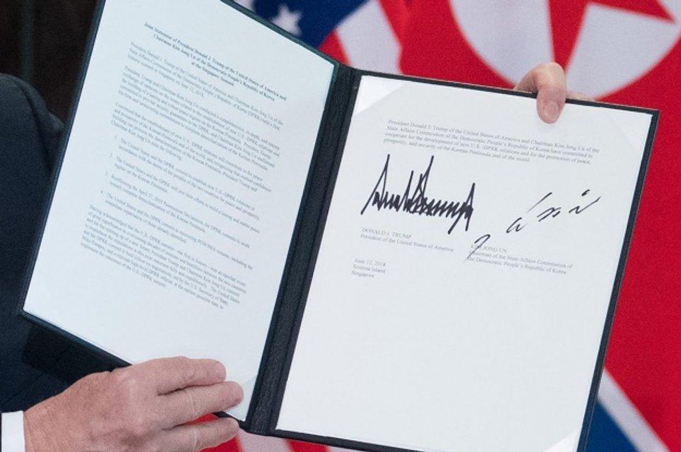 Итоги встречи Трампа с Ким Чен Ыном: США дают гарантии КНДР по принципу 'Будапешта' - фото 130184