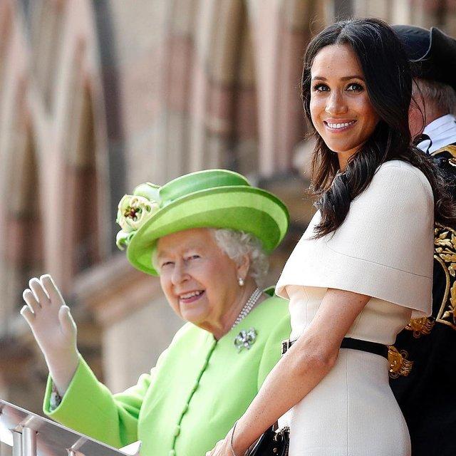 Меган Маркл рассказала о замужней жизни с принцем Гарри - фото 130880