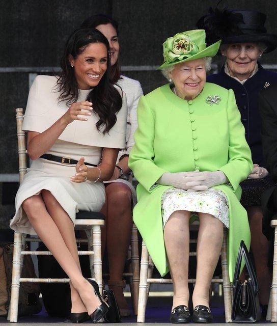 Меган Маркл рассказала о замужней жизни с принцем Гарри - фото 130882