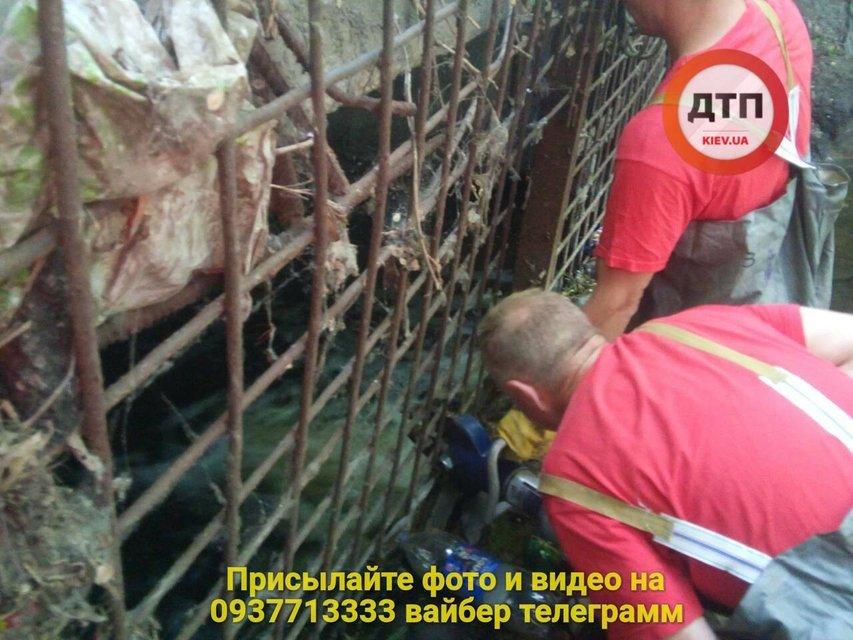 В Киеве во время ливня утонул мужчина - фото 131027