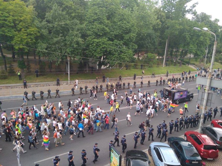 В Киеве завершился Марш равенства: фото, видео с дрона - фото 131184