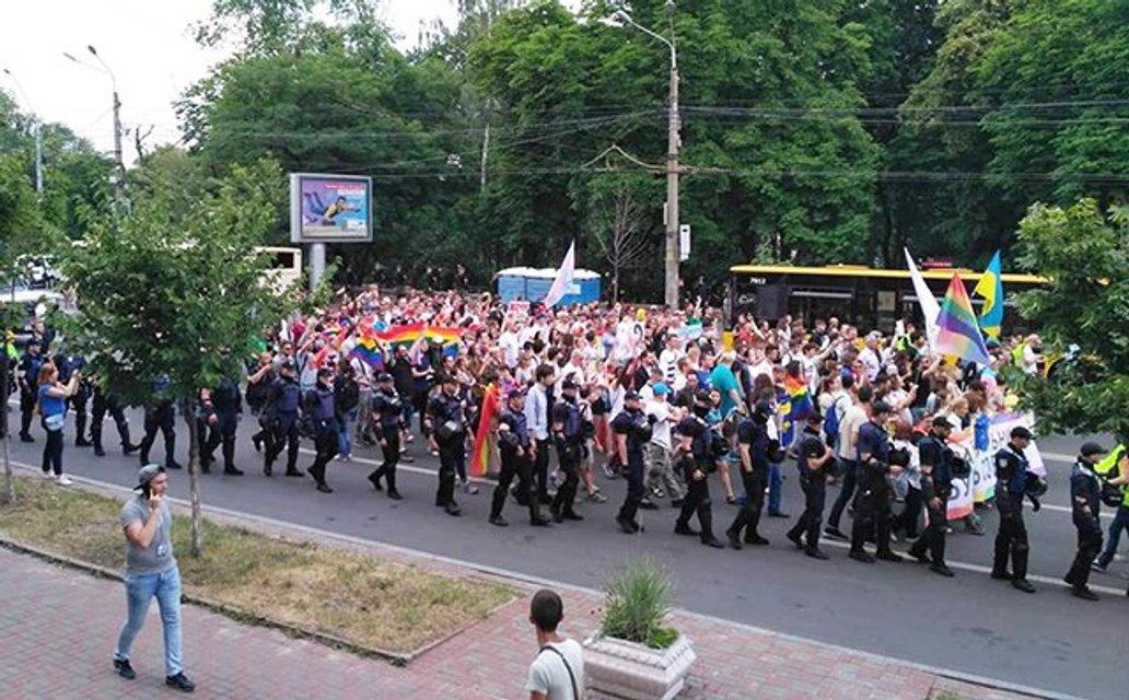 В Киеве завершился Марш равенства: фото, видео с дрона - фото 131188