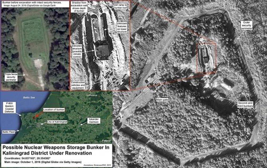 В США заявили об активизации Россией ядерного бункера вблизи границы с Польшей - фото 131415