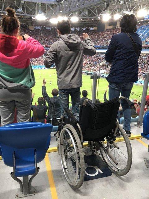 ЧМ-2018: В России аферисты под видом инвалидов попали на VIP-места - фото 131713