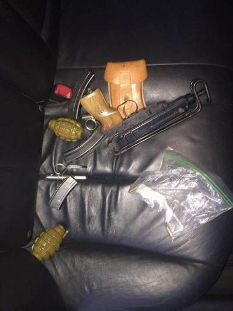 Харьковского студента поймали на продаже гранат, автомата и пистолета (ФОТО) - фото 131767
