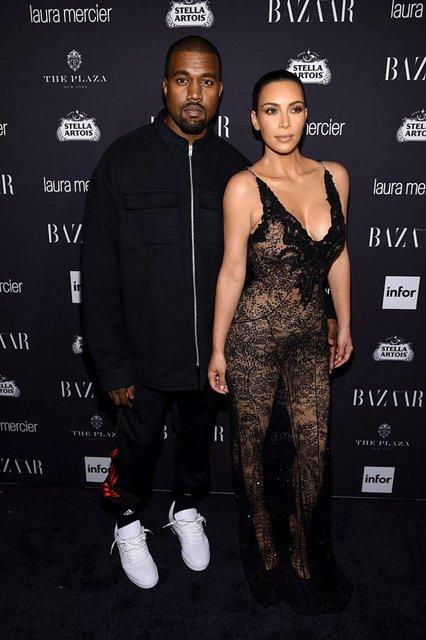 Канье Уэст назвал стиль Ким Кардашьян ужасным и вычистил весь ее гардероб - фото 131930