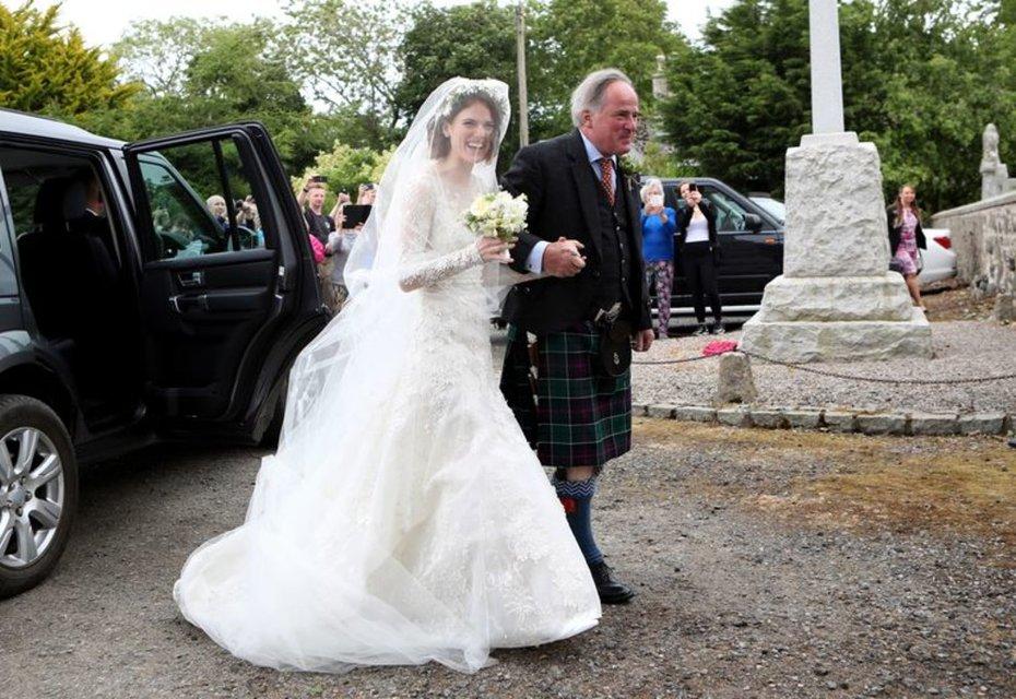 Кит Харингтон и Роуз Лесли поженились (ФОТО) - фото 132368