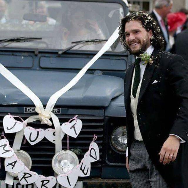 Кит Харингтон и Роуз Лесли поженились (ФОТО) - фото 132377