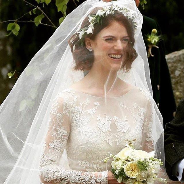 Кит Харингтон и Роуз Лесли поженились (ФОТО) - фото 132378