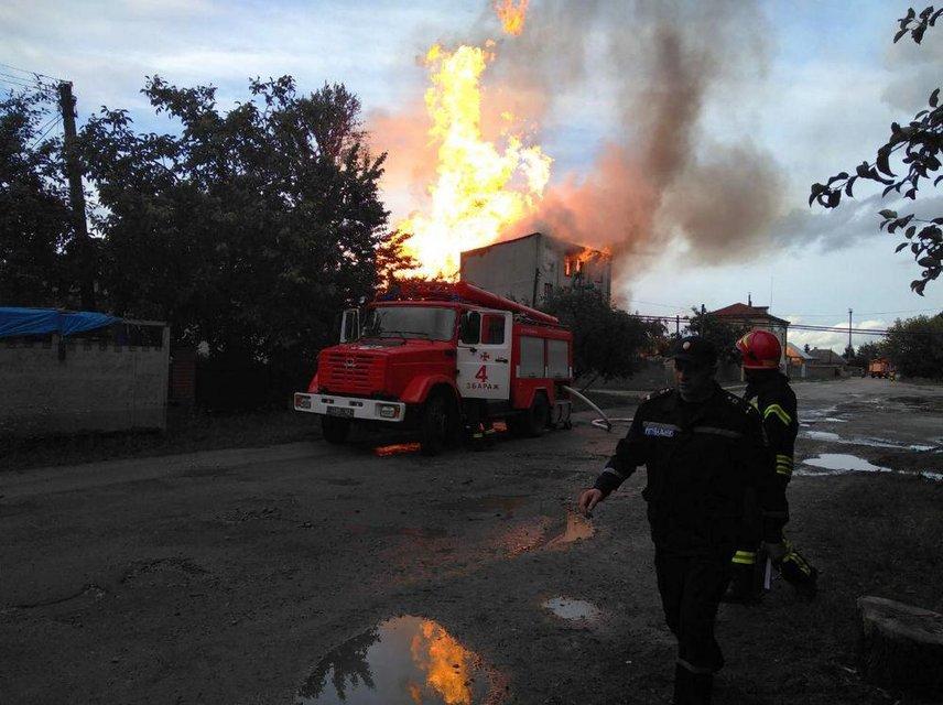 В Тернопольской области на спиртзаводе произошел взрыв - фото 132386