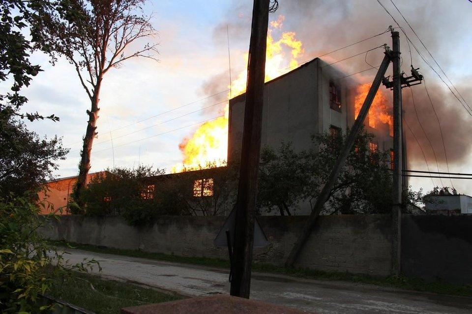 В Тернопольской области горел спиртзавод: спасатели эвакуировали 350 человек - фото 132409