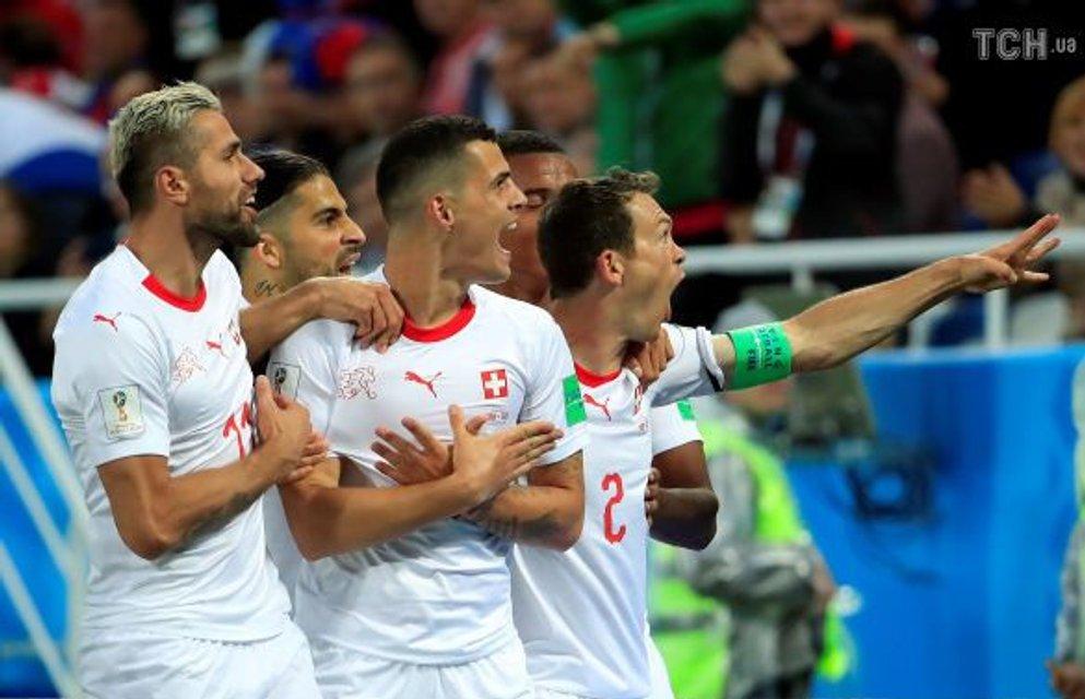ЧМ-2018: ФИФА оштрафовала швейцарских игроков за албанского орла - фото 132654